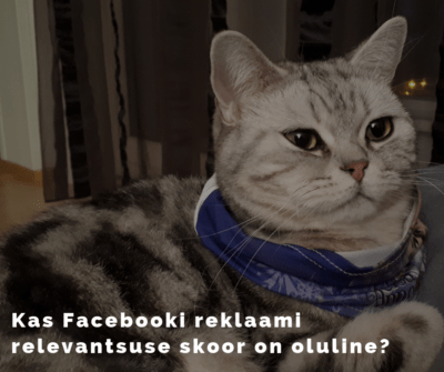 Facebooki relevantsuse skoor / Facebook Relevance Score