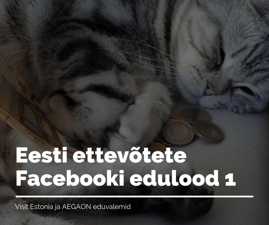 Eesti ettevõtete Facebooki edulood 1. Milos reklaam