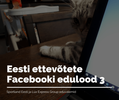 Eesti ettevõtete Facebooki edulood3