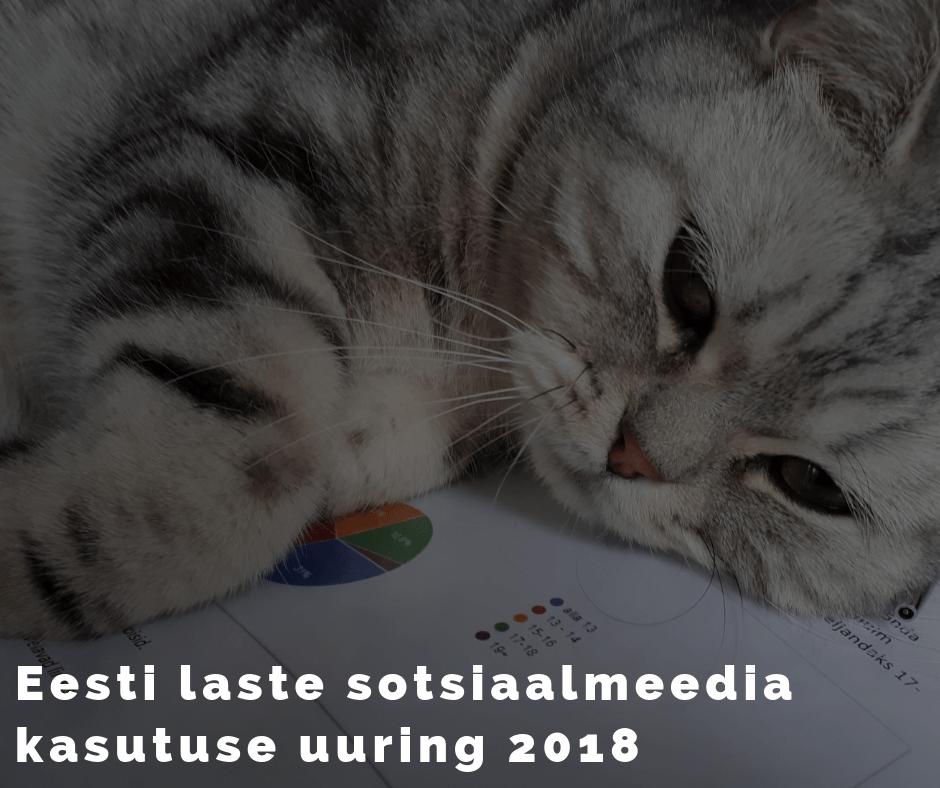 Eesti laste sotsiaalmeedia kasutamise uuring.