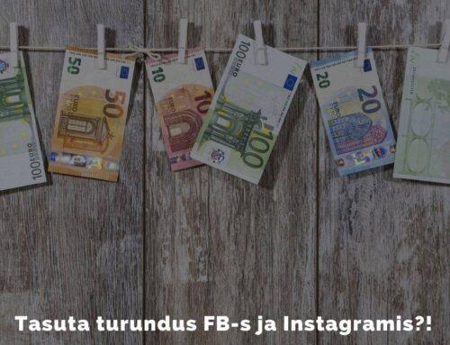 Kuidas Facebookis ja Instagramis tasuta turundada?