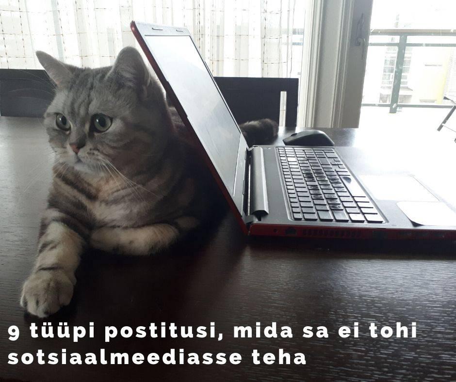 Mida mitte postitada sotsiaalmeediasse