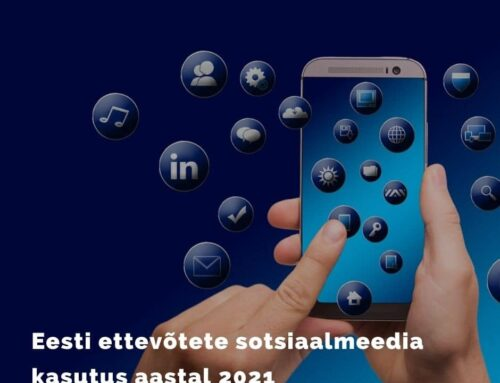 Eesti ettevõtete sotsiaalmeedia kasutus aastal 2021